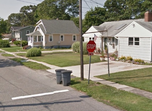 We do garbage collection in Bayport at this home - Winters Bros.